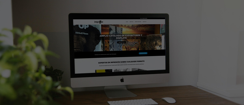 Páginas web a medida